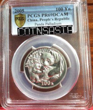 china palladium coin