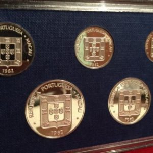 1982 Macau Proof Set