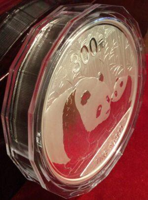 2011 China Silver 1 Kilo Proof Panda 300 Yuan Coin