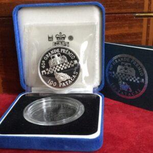 1993 Macau silver grand prix coin