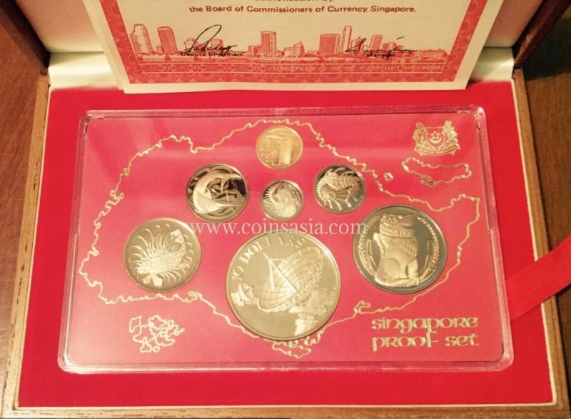 1980 Singapore proof