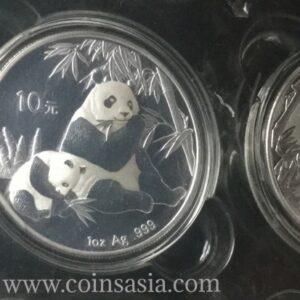 2007 silver panda coin