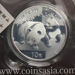 2008 Chinese silver panda coin