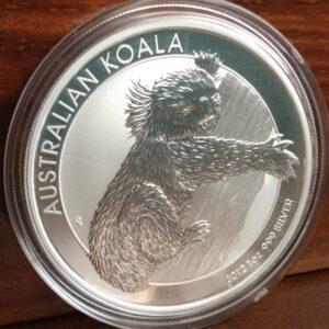 2012 perth min silver coin