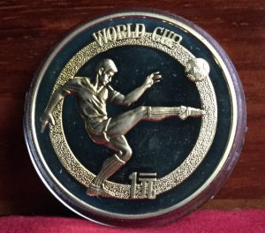 china football coin