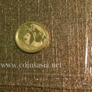 2016 China 1 gram Gold coin