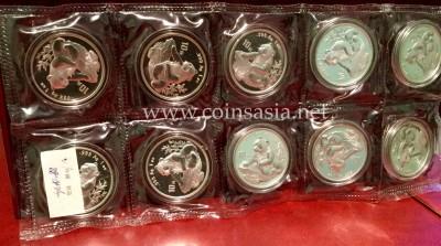 1998 China Silver Panda