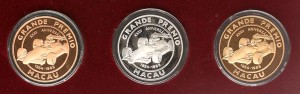 Macau Grand Prix Coin Record Sales
