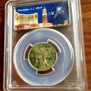 1993 PCGS MICAPE Sample MAcau 50 Avos