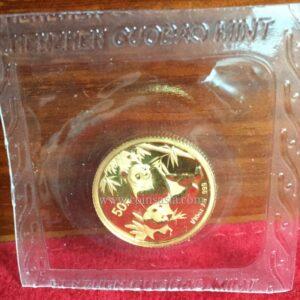 china gold coin