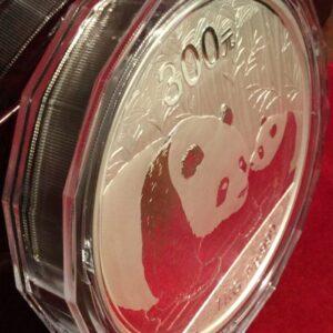 2011 Silver Panda 1 kilo