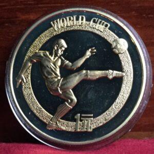 china football coin