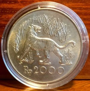 1974 RP2000 Indonesia silver