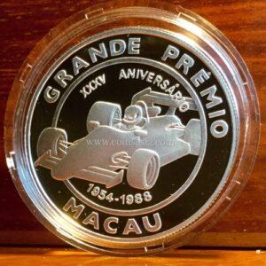 1988 Macau Grand Prix silver