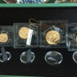 2012 Gold Panda Set