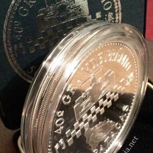 1993 Macau 500P Silver 5oz Proof Coin